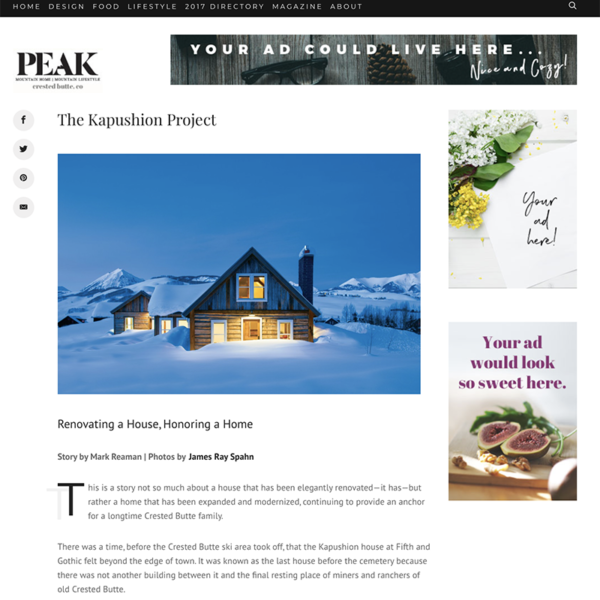 The Kapushion Project, Crested Butte